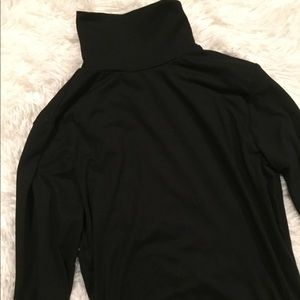 NWOT Urban Outfitters Open Back Turtle Neck Top